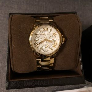 Authentic MK gold watch